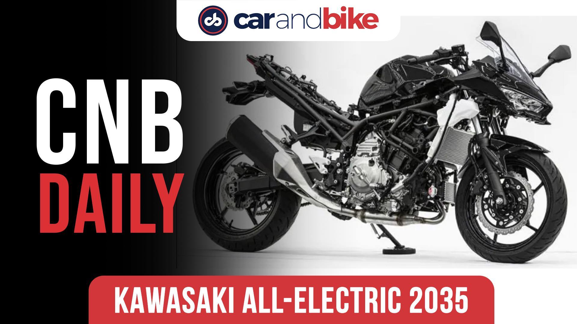 Kawasaki to go all electric by 2035