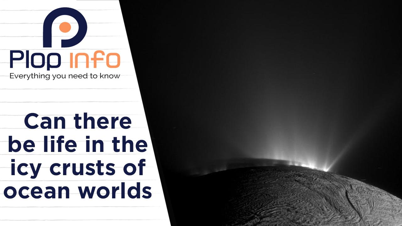 Can there be life in the icy crusts of ocean worlds ? | Everything You Need To Know | Plop Info