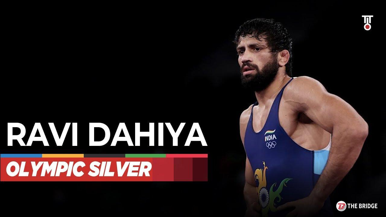 Ravi Kumar Dahiya wins silver medal for India at Tokyo Olympics   The Bridge