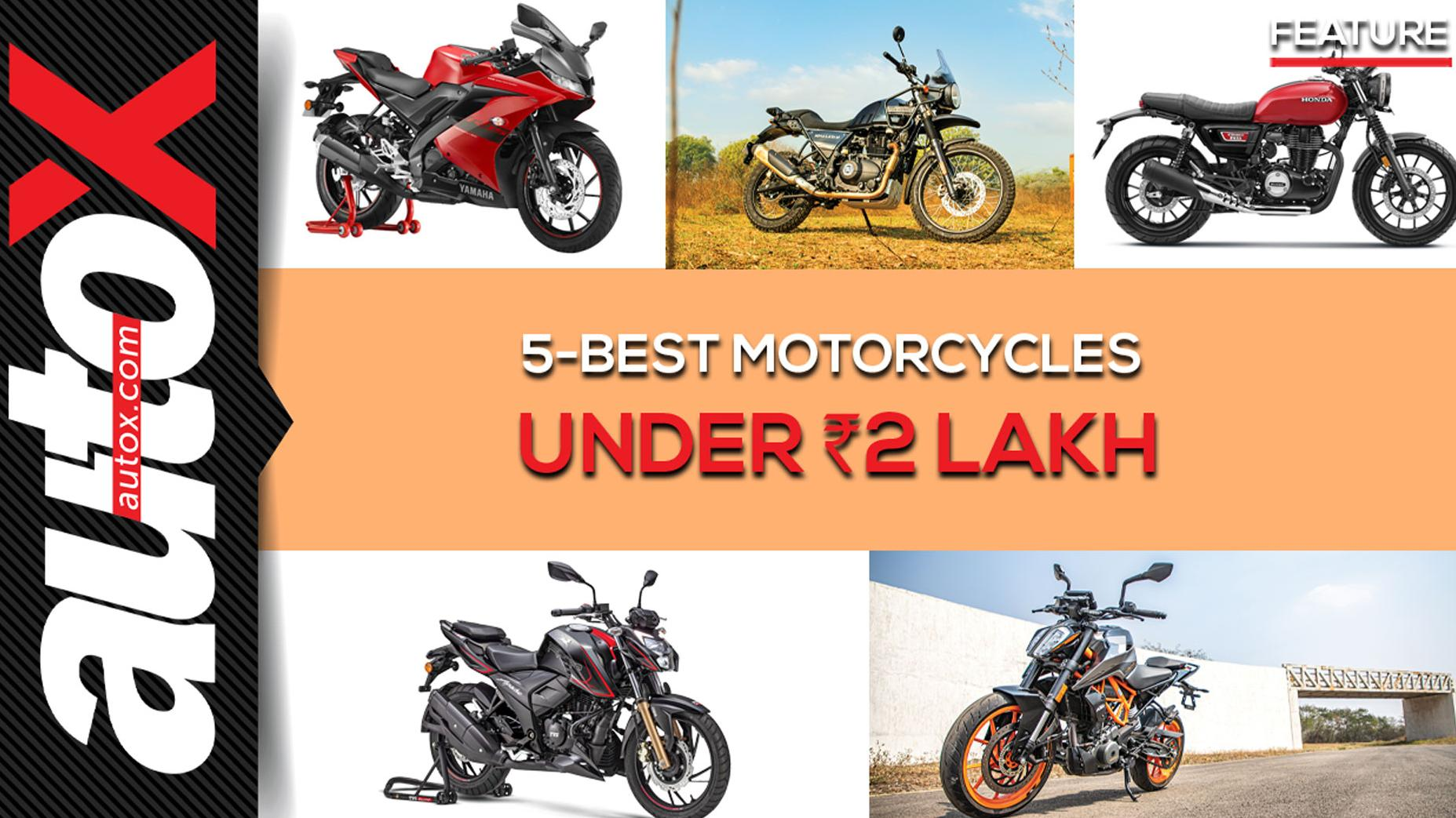 5 Best Motorcycles under Rs 2 Lakh: 2021 | autoX
