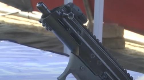 DRDO displays India's 1st indigenously developed machine pistol ASMI