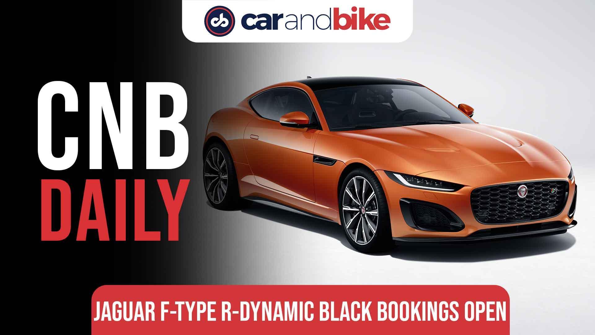 Jaguar F-Type R-Dynamic Black Bookings Open