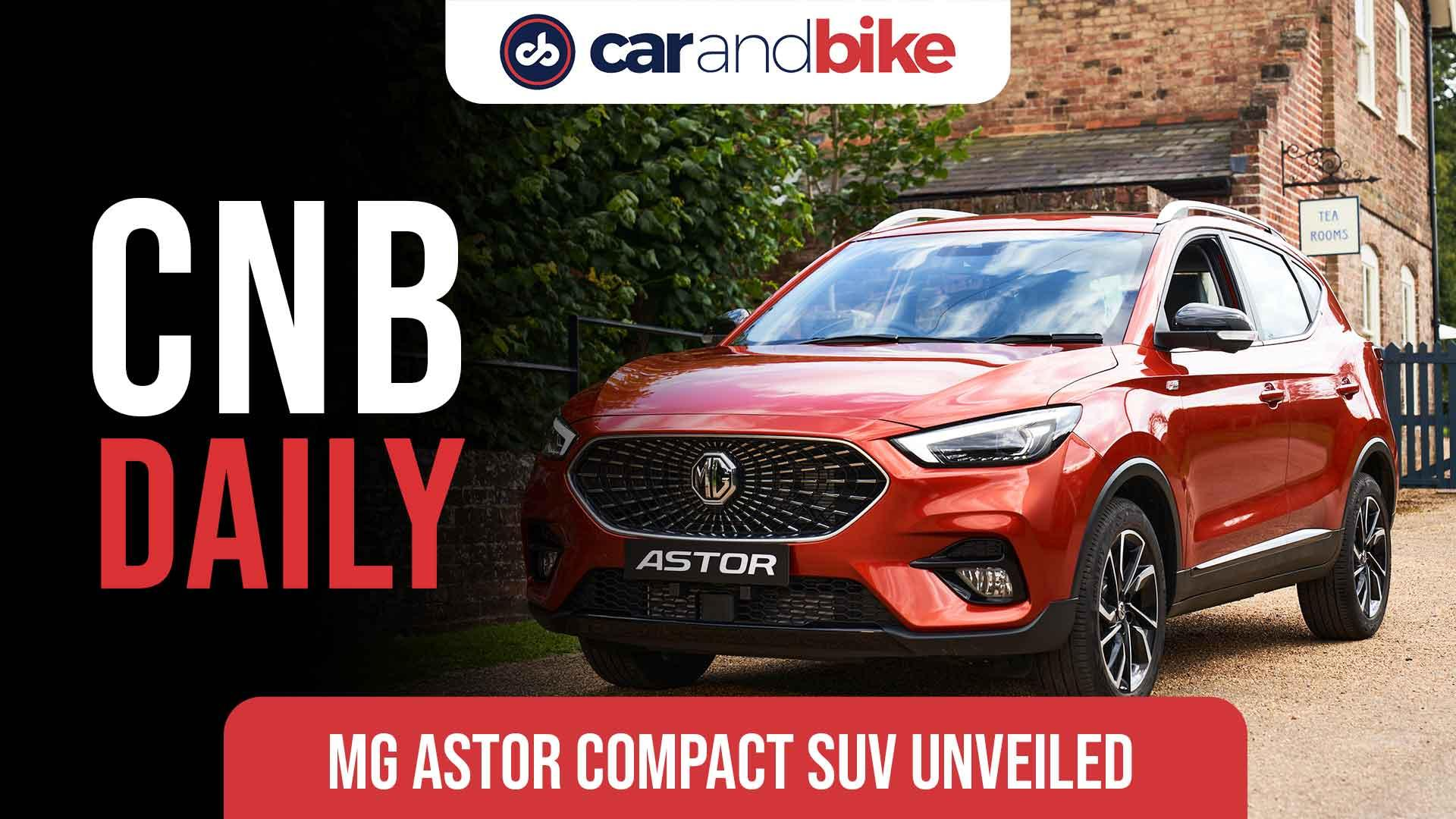 New MG Astor Compact SUV revealed