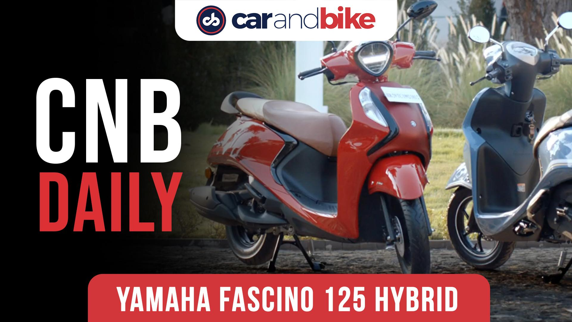Yamaha Fascino 125 FI Hybrid Launched In India