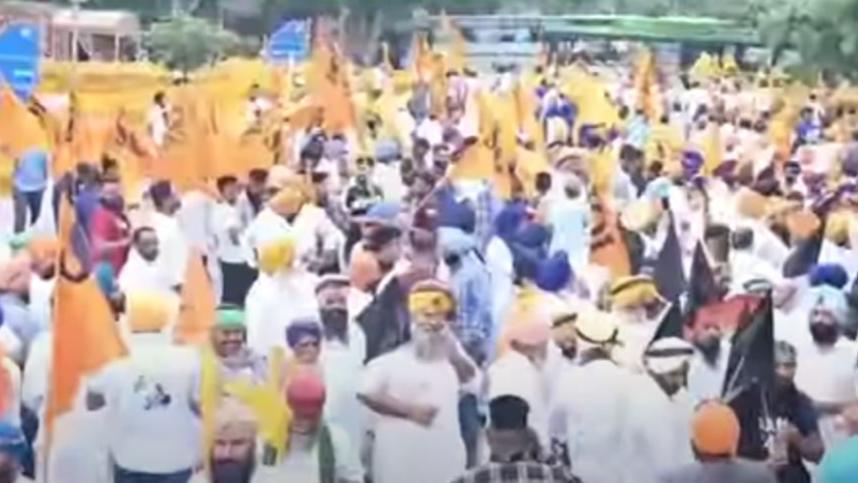 Akali Dal Protest: कृषि कानूनों के खिलाफ अकाली दल का हल्ला बोल, Delhi-NCR के कई मार्ग बंद