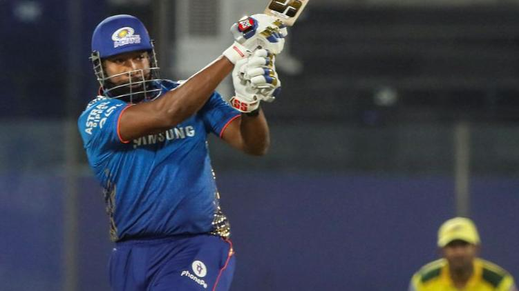 Pollards blitz helps Mumbai record their highest IPL chase